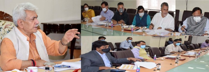 Lt Governor reviews functioning of Skill Development Department