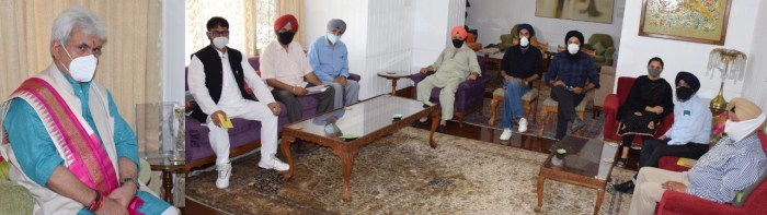 Sikh Minority Forum, J&K calls on Lt Governor