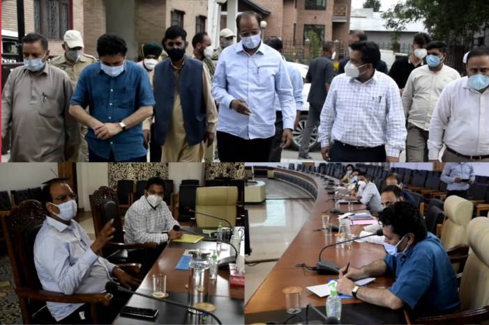 Union Additional Secretary reviews implementation of SBM Phase-2 in Anantnag