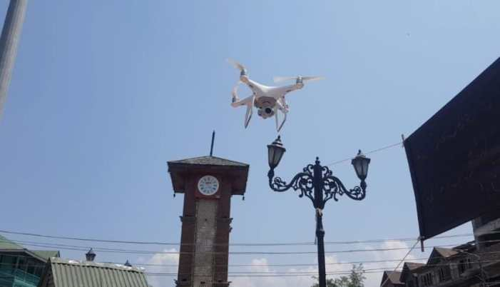 Police to use drones for aerial surveillance for the events of August 15 say reports