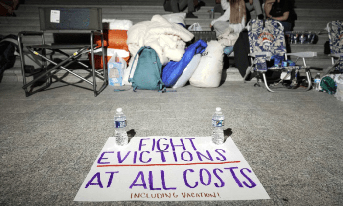 Millions of Americans at risk of eviction as virus cases spike