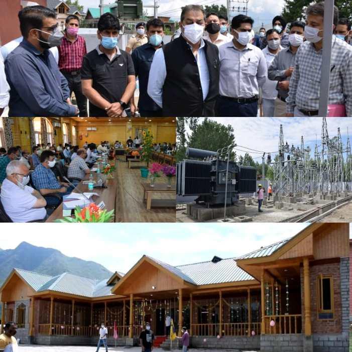 Advisor Baseer Khan visits Bandipora; inaugurates TRC at Garoora, inspects development works