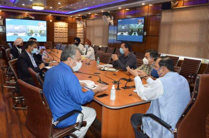 Advisor Bhatnagar reviews progress on establishment of RCoE in Automotive Technology at ITI Budgam, Kathua