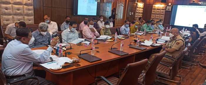 Advisor Bhatnagar chairs 7th meet of J&K RSC