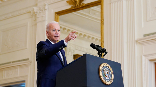 Biden says Afghan leaders must 'fight for their nation' as Taliban gains increase