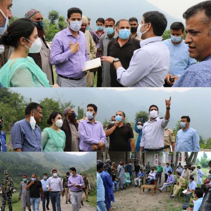 DDC Srinagar conducts extensive tour of hilly areas in Khanmoh Block to listen to public grievances