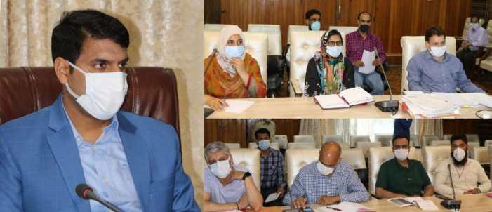 DDC Srinagar reviews District Environment Plan
