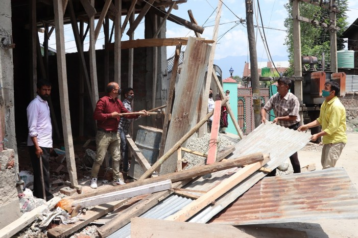LAWDA conducts demolition drive in various city areas