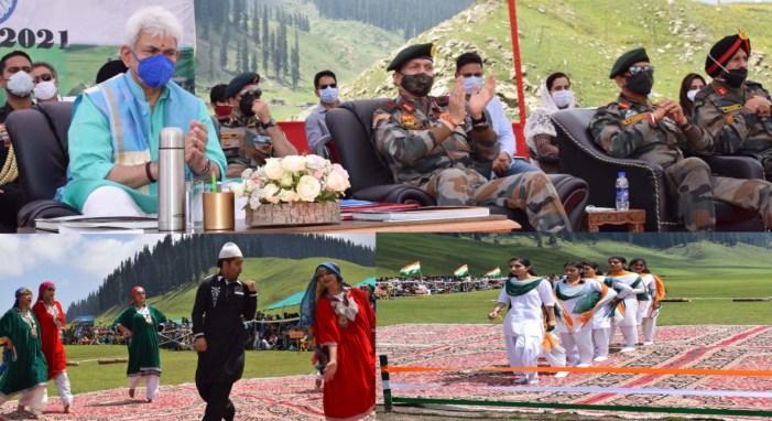 Lt Governor visits Bungus Valley; inaugurates 'Bungus Awaam Mela'