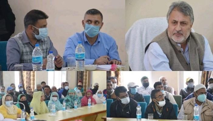 Dr Samoon holds public interaction programme in Gurez