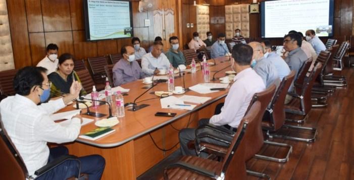 Vivek Bhardwaj chairs maiden meet of H&ME Department