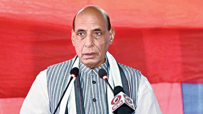 Afghan situation raises new security questions, says Rajnath Singh