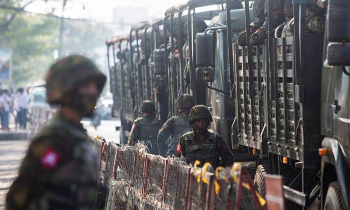 Myanmar shadow govt calls for revolt against military rule