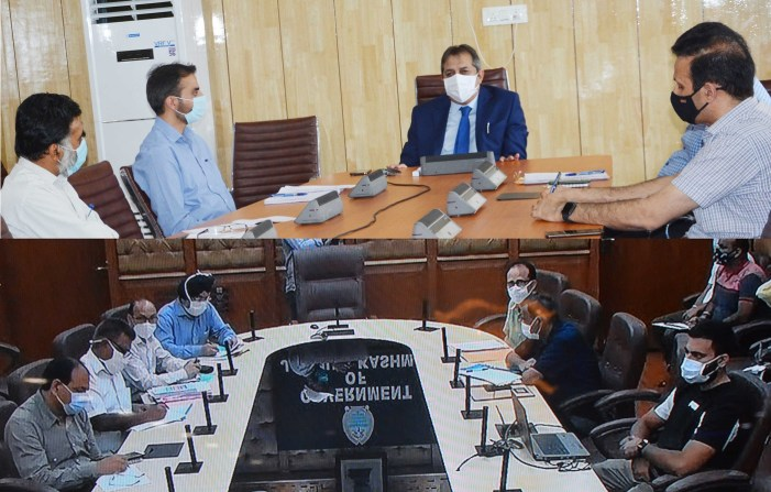 Advisor Baseer Khan reviews PDD with specific emphasis on winter preparedness in Jammu Division