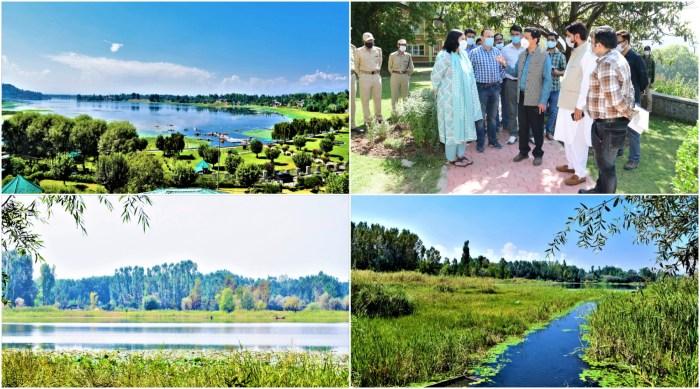 Commissioner Secretary Forests visits Ganderbal