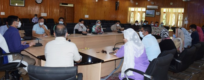 DC B'gam reviews Covid-19 situation in the district