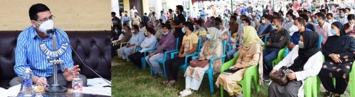 DC B'gam holds Public Interaction programme at Khanda, BK Pora