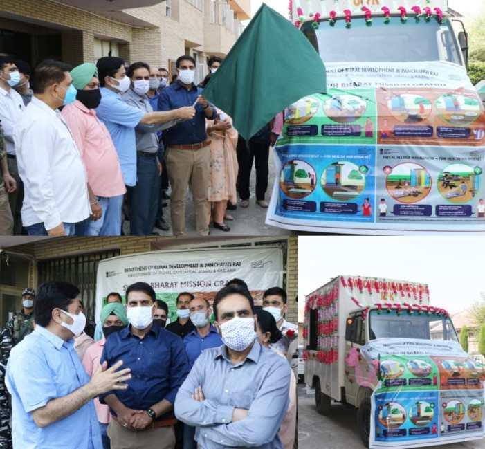 DC Sgr flags-off Satyagraha se Swachhagraha Rath Yatra
