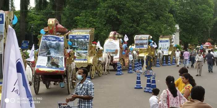 Tourism Deptt concludes promotional campaign at Kolkatta