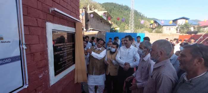 Union Minister of State for Minority Affairs inaugurates Rs.2.82 crore WSS Halpal