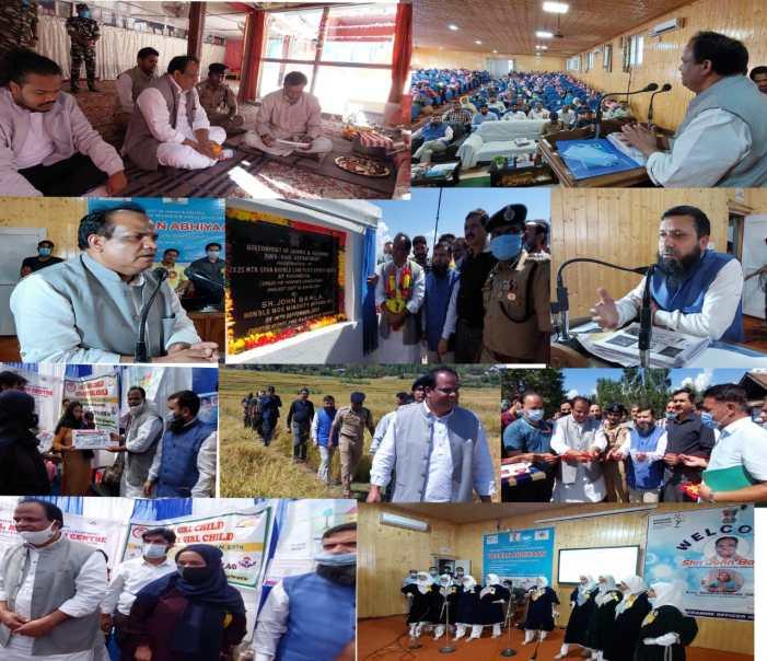 Union MoS for Minority Affairs inaugurates Rs. 6.15 crore Khumriyal bridge; Participates in Poshan Abhiyaan activities at Kupwara