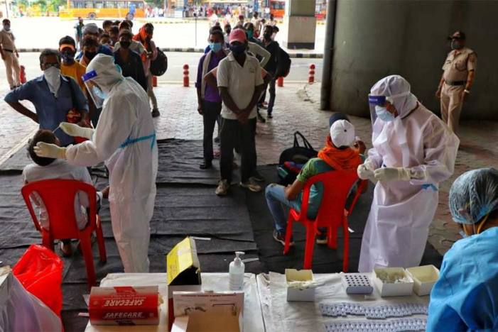 India Logs 14,306 New Covid-19 Infections, Active Cases Drop To 1,67,695