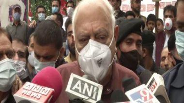 Kashmir will never be part of Pakistan: Farooq