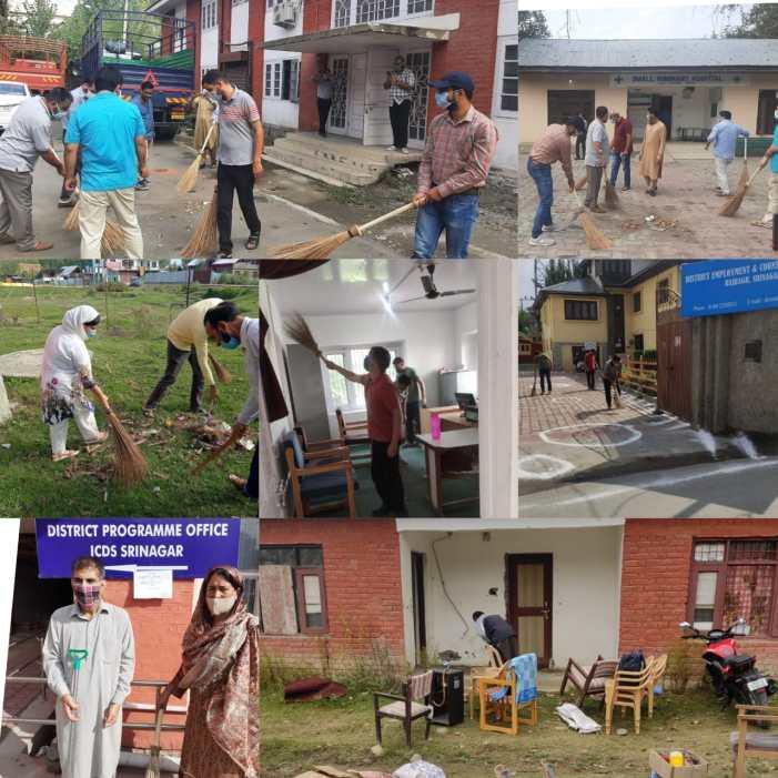 Massive Cleanliness drive launched across Srinagar under Swachhta Pakhwada