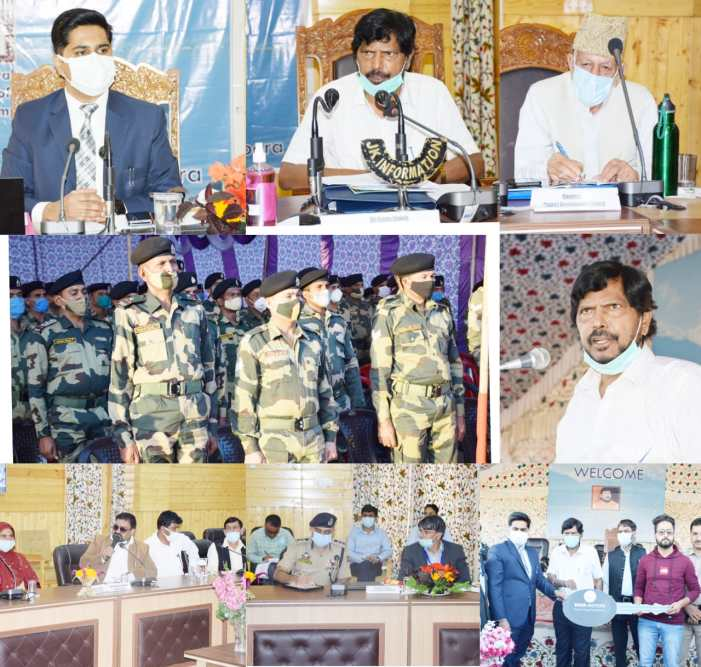 Union MoS Social Justice and Empowerment visits Bandipora; E-inaugurates various projects