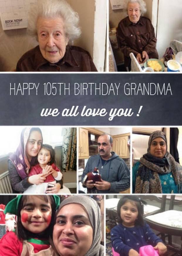 elderly jewish lady muslim family