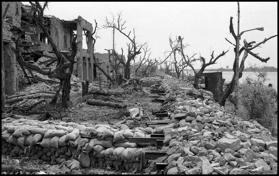 Destruction of homes in Khorramshahr