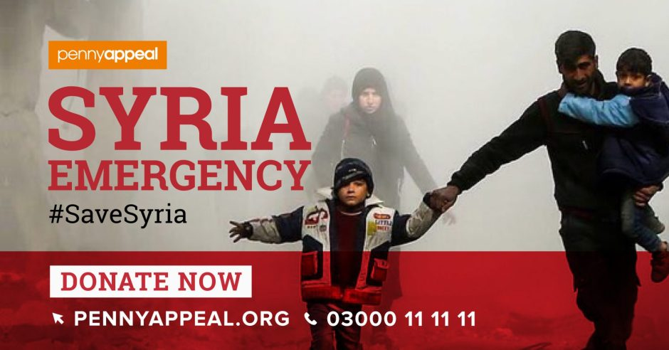 Syria Emergency. Penny Appeal org