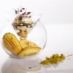 Foie Gras de Canard-wasabi madeleine and eel-celery jam[1]
