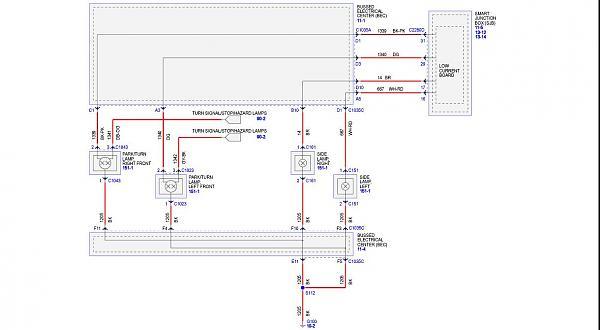 67 mustang tail light wiring diagram 1955 cadillac wiring