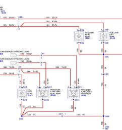 tail light wiring diagram the mustang source ford mustang forums 4 flat trailer wiring diagram tail light diagram [ 1220 x 670 Pixel ]