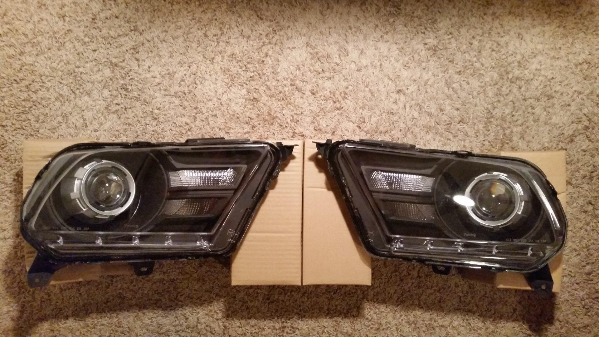 hight resolution of retrofit mustang headlights 2010 2012 loganspc 20150312 230039 jpg