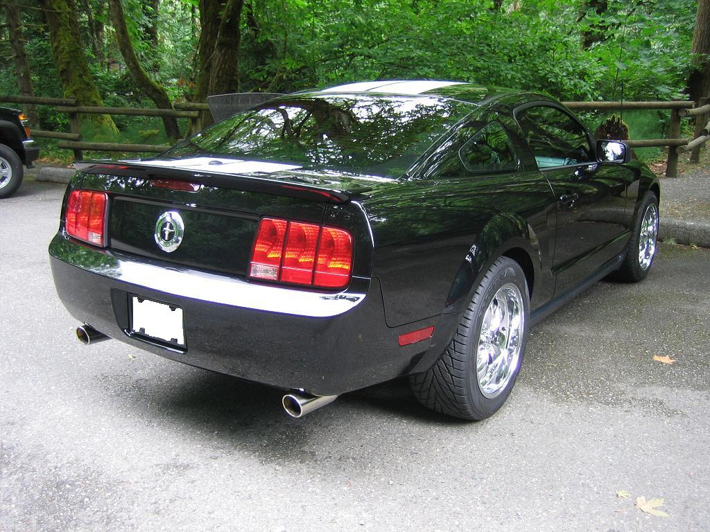v6 dual exhaust the mustang source