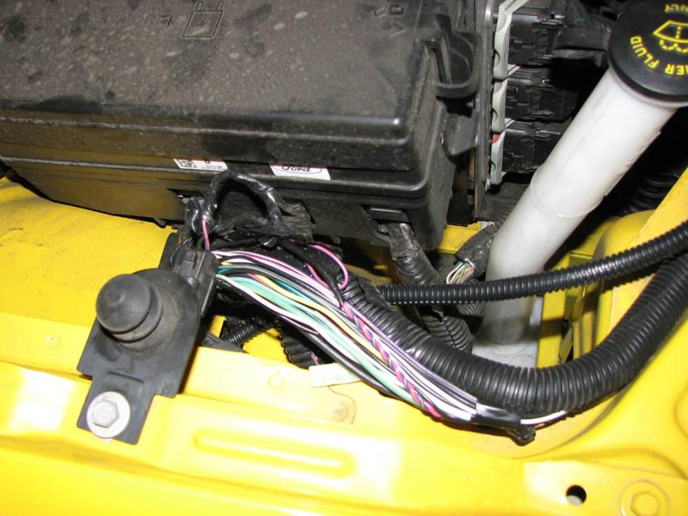 medium resolution of 2007 mustang pony grill fog lights install img 2108 v2 jpg