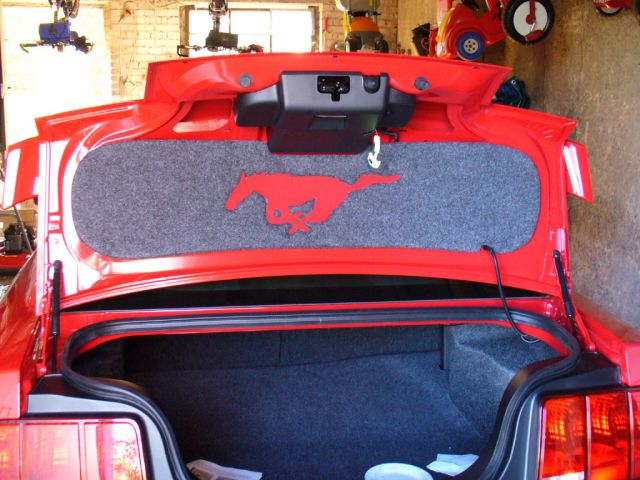 Trunk Lid MatWhere To Buy The Mustang Source Ford