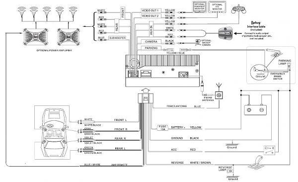 single din wiring diagram