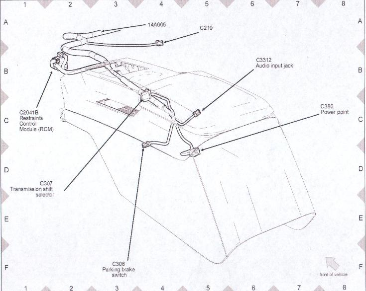 wiring diagram for 2007 mustang mirror