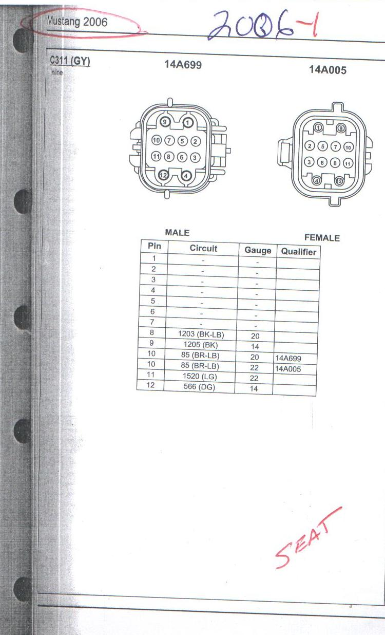 hight resolution of power heated seat wiring info 05 up