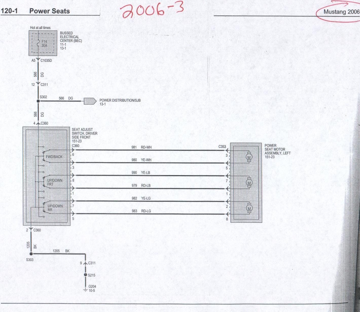 e38 seat wiring diagram superwinch solenoid power and heated info 05 up the mustang source