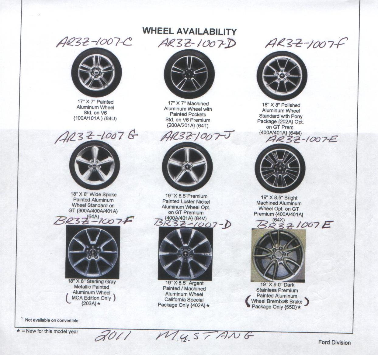 10 Amp 11 Factory Wheels Priceing Amp Pic Guide