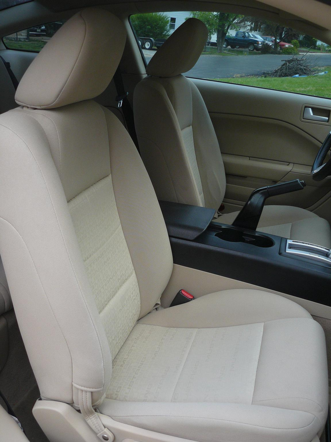 hight resolution of fs oem tan cloth seat covers