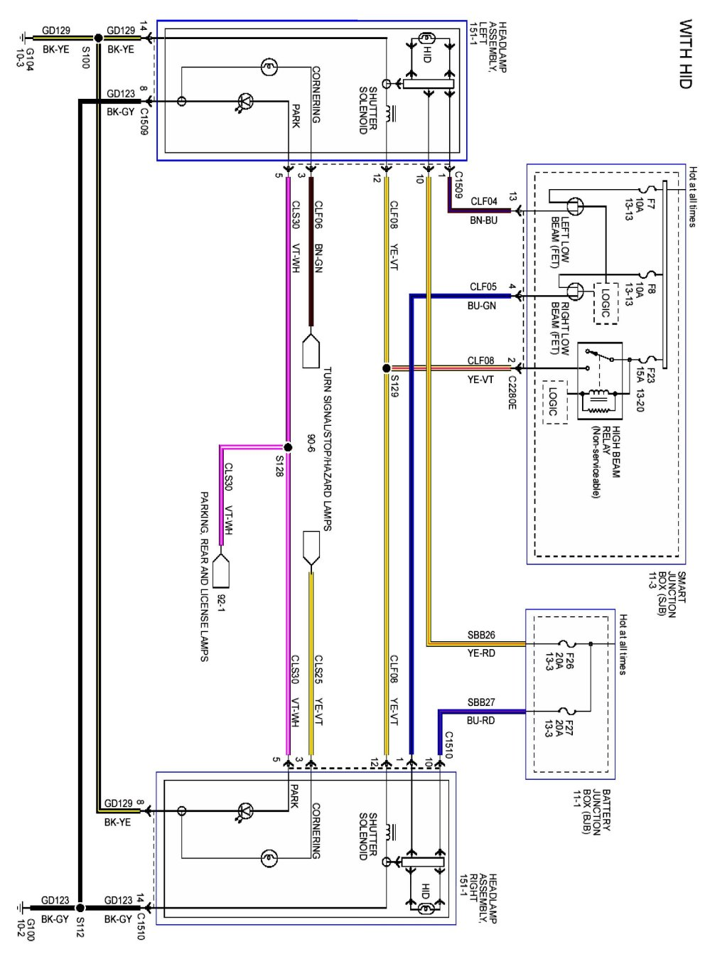 medium resolution of 2013 mustang headlights on a 2010 the mustang source ford mustang wiring harness diagram 2013 mustang