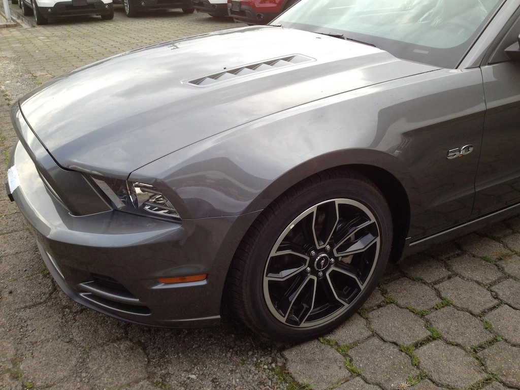 hight resolution of 2013 gt premium sterling grey metallic with saddle interior dosm jpg