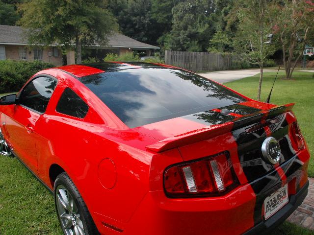 Mustang Boss Gt Black Ford 2010