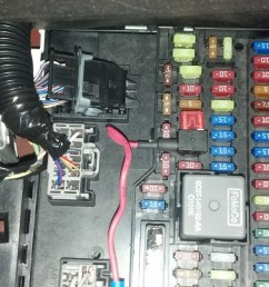 mustang fuse box layout 2014 ford installed rogue radar detector mount today 2012 08 04 10 55 59 377 [ 2589 x 1460 Pixel ]