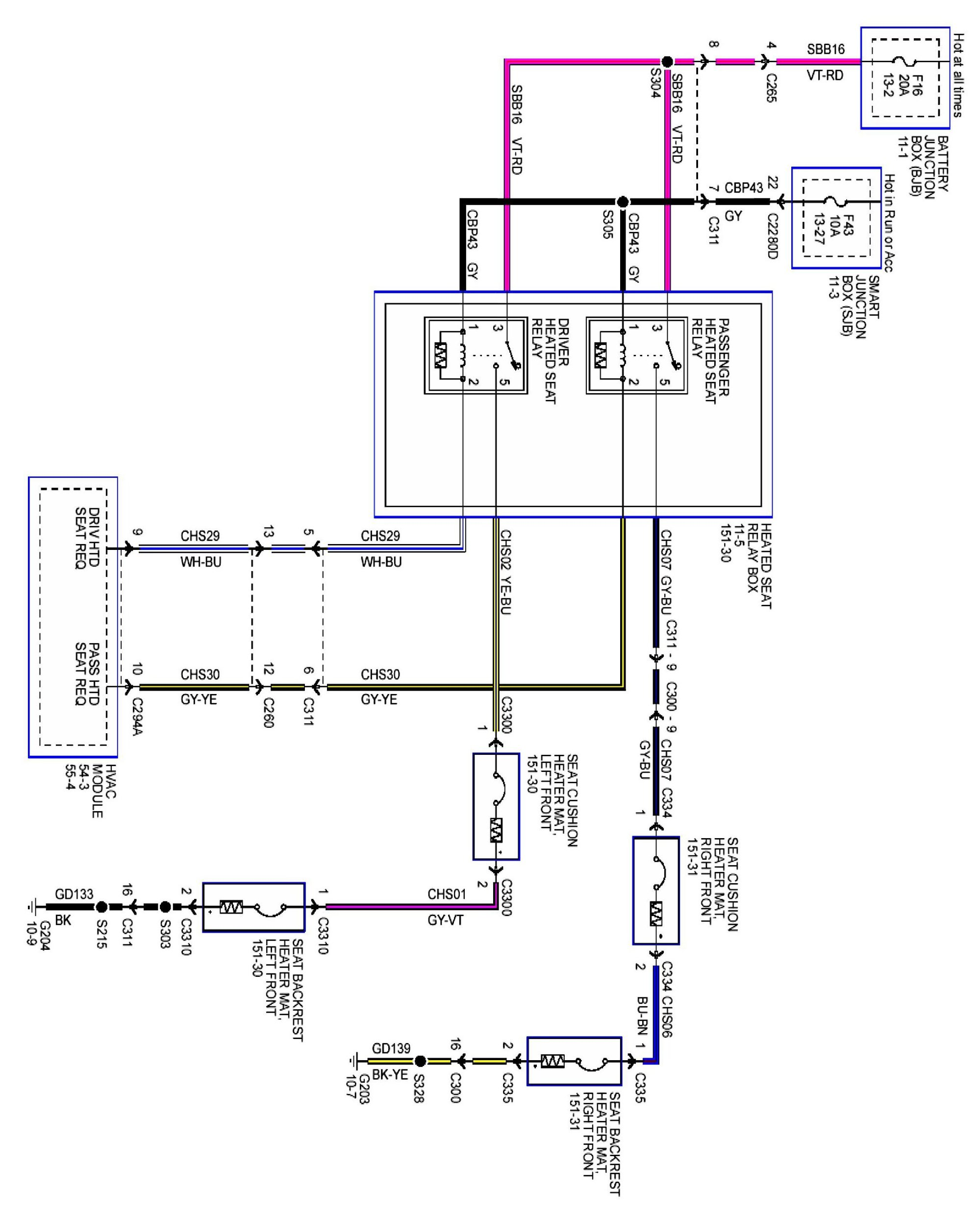 hight resolution of ford heated seat wiring diagram wiring diagrams scematic heated electric